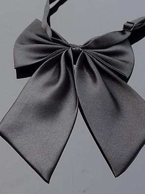 Damer Slips og halsklud-Kontor / Casual Polyester-Ensfarvet