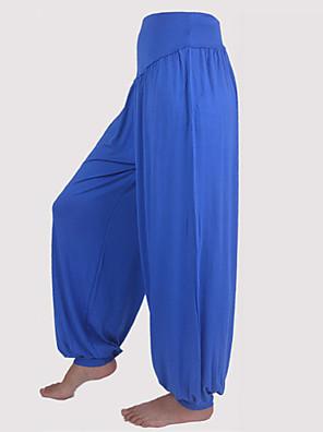 calças de yoga Calças / Fundos Respirável / Materiais Leves Caído Inelástico Wear Sports Mulheres EsportivoIoga / Pilates / Exercicio e