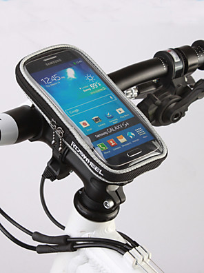 ROSWHEEL® Bolsa de BicicletaBolsa para Guidão de BicicletaZíper á Prova-de-Água / Á Prova de Humidade / Camurça de Vaca á Prova-de-Choque
