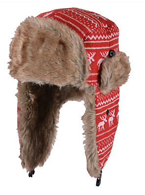 כובע ציד נשים וינטאג' / חמוד / יום יומי,תערובת צמר קיץ / חורף