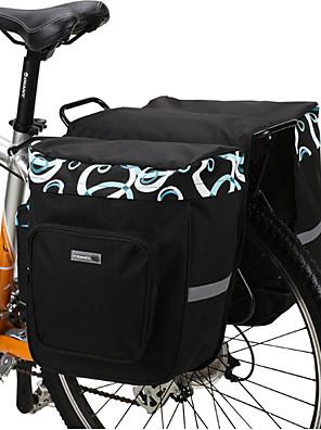 Bolsa de Bicicleta 30LMala para Bagageiro de Bicicleta/Alforje para BicicletaÁ Prova-de-Água / Camurça de Vaca á Prova-de-Choque /