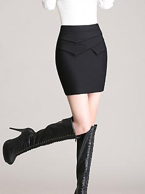 Polyester-Micro-elastisch-Sexy-Mini-Vrouwen-Rokken