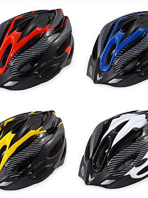 Hora / Cesta / Sporty-Unisex-Cyklistika / Horská cyklistika / Silniční cyklistika / Rekreační cyklistika-Helma(Žlutá / Bílá / Červená /
