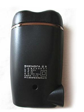 מכונת גילוח גברים פנים חשמלי / מכונת גילוח מסתובבת ראש ציר פלדת אלחלד SHENGFA