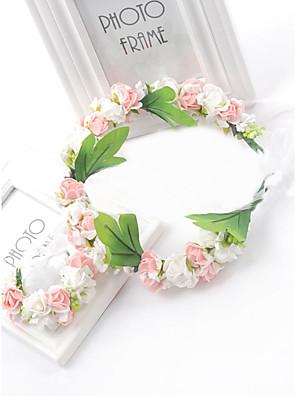 Mulheres / Menina das Flores Espuma Capacete-Casamento / Ocasião Especial Flores 1 Peça