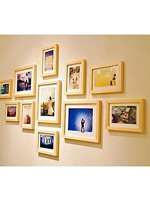 11pcs photo wall Retro Rectangular,Ceramic 1set Medium