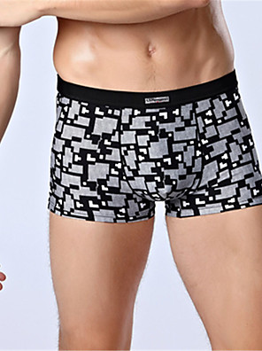 SHINO® Baumwolle / Bambous Carbon Faser Kurze Boxershorts 4 / box-7710