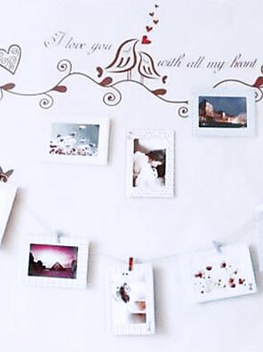 "8pcs 6"" photo wall Picture Frames Retro Rectangular,Wood 1set"