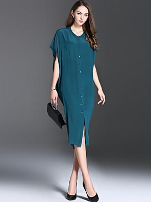 es Dannuo női ruha stílusa minta alakot ruha, dekoltázs ruha hossza szövet