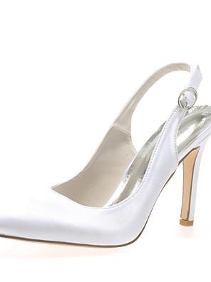 Bruiloft Schoenen - Zwart / Blauw / Roze / Paars / Rood / Ivoor / Wit / Zilver / Champagne - Huwelijk / Feesten & Uitgaan - Gepunte neus -