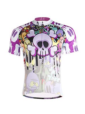 PALADIN® Camisa para Ciclismo Homens Manga Curta MotoRespirável / Secagem Rápida / Resistente Raios Ultravioleta / Materiais Leves /