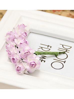 נשים נייר כיסוי ראש-חתונה זרי פרחים חלק 1