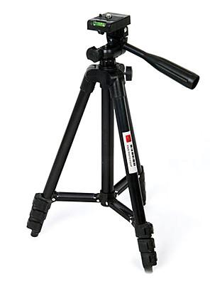מצלמה שחורה סגסוגת אלומיניום סעיף חצובה בצילום ארבעה סטנטים חצובה מצלמה SLR דיגיטלית מצלמה