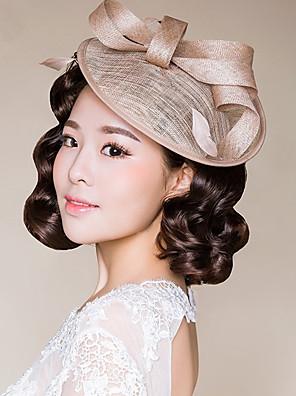 נשים נוצה / נצרים / פשתן כיסוי ראש-חתונה / אירוע מיוחד / קז'ואל / חוץ קישוטי שיער חלק 1