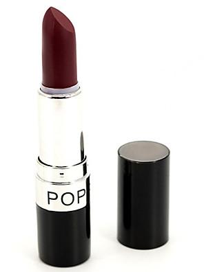 Batons Secos / Mate Bastão Gloss com Purpurina Brilhante / Gloss Colorido / Cobertura / Longa Duração / Impermeável / Natural / Respirável