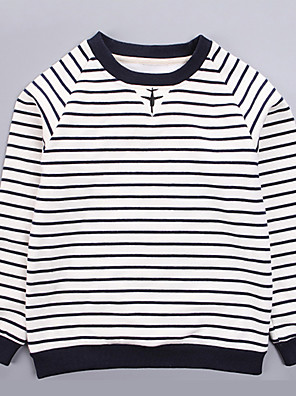 Boy's Casual/Daily Striped Sweater & CardiganCotton / Polyester Spring / Fall White