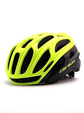 Capacete(Amarelo / Branco / Verde / Vermelho / Preto / Azul,PC / EPS) -Montanha / Estrada / Esportes-Mulheres / Homens / Unisexo 34