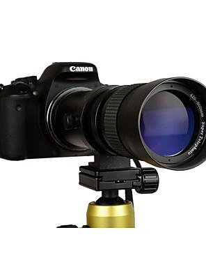 420-800mm f / 8,3-16 szuper-telefotó zoom objektív manuális t bajonettes Canon dslr