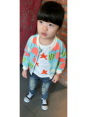 Girl's Casual/Daily Solid Hoodie & SweatshirtCotton Spring / Fall Blue