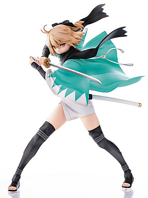 Fate/zero Okita Souji PVC 24.5cm Anime Čísla akce Stavebnice Doll Toy