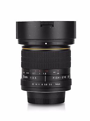 továbbfejlesztett változata 8mm f / 3.5 aszférikus körkörös halszem objektív Nikon D7100 D5000 D800 D5000 d90 d600 d40