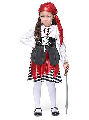 חליפות קוספליי קיבל השראה מ KILL la KILL Akashi Seijyuurou אנימה אביזרי קוספליי שמלה / אביזר לשיער / חגורה אדום פוליאסטר Kid