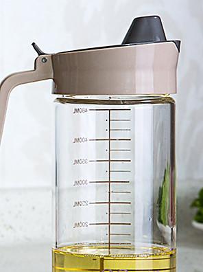 1 db konyhában olajfolt megelőzés olaj pot fűszerezés üvegpalack kupakkal