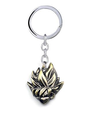 אביזרים נוספים קיבל השראה מ Dragon Ball Goku אנימה אביזרי קוספליי שרשרת מפתחות מוזהב סגסוגת