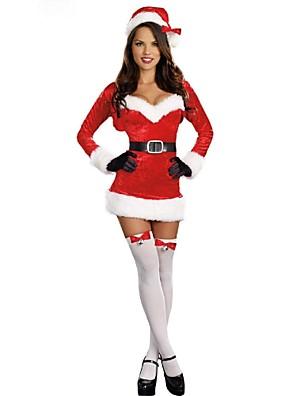 Cosplay Kostýmy Červená Terylen Cosplay doplňky Vánoce / Karneval
