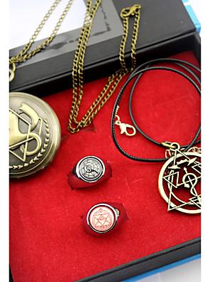 Hodiny / hodinky / Více doplňků Inspirovaný Fullmetal Alchemist Edward Elric Anime Cosplay DoplňkyNáhrdelníky / Hodiny / hodinky /