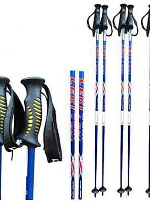særlige oneway kulstof skistav ski sport forsyninger skistav / blå og rød