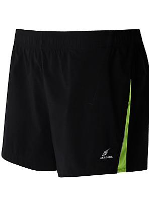 ריצה תחתיות לגברים נושם כותנה כושר גופני / מירוץ / ריצה ספורטיבי מתיחה רזה בגדי שטח / בגדי ספורט ומנוחה שחור קיץ קלאסיM / L / XL / XXL /