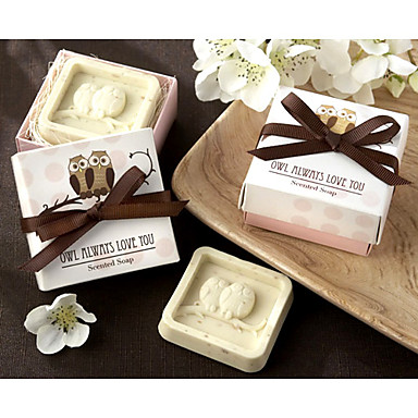 Owl Always Love You Scented Soap Wedding Favor 122325 2016 199