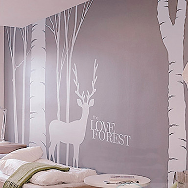 Buy Love Forest Wall Stickers (1985-P2)
