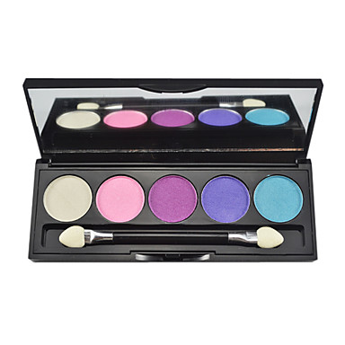 Buy 5 Eyeshadow Palette Shimmer palette Powder Normal Daily Makeup