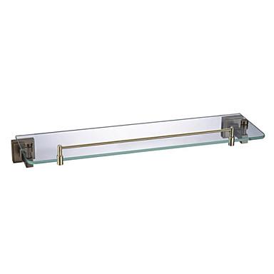 Bronzo antico in vetro accessori per il bagno mensola del ...