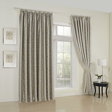 (One Panel) Aspire Embossed Blackout Thermal Curtain