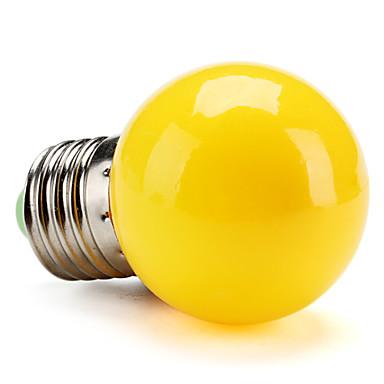 Buy E26/E27 0.5W High Power LED 50 LM Yellow G45 Globe Bulbs V