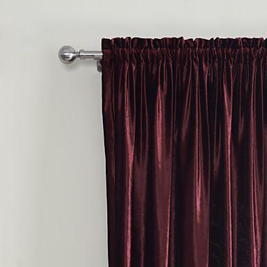 To paneler Neoklassisk Solid Rød Soveværelse Polyester Panel ...