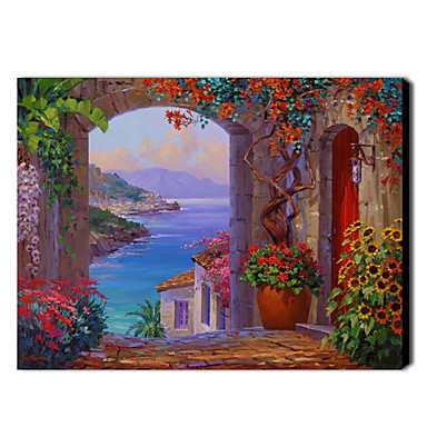 Hand Painted Oil Painting Landscape 1211-LS0114
