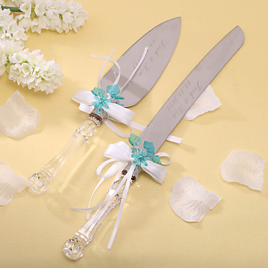 How To Decorate A Wedding Cake Knife And Server