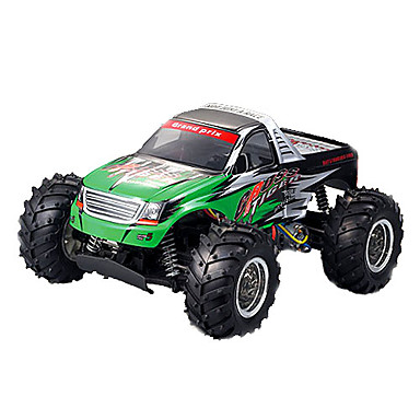 Buy Truck YX YX-3427 1:10 Brush Electric RC Car 2.4G Green Ready-To-GoRemote Control / Remote Controller/Transmitter Battery Charger