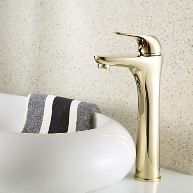 Stile antico centerset ottone bagno rubinetti ti pvd fine del 527299 2017 a - Rubinetti bagno ottone ...