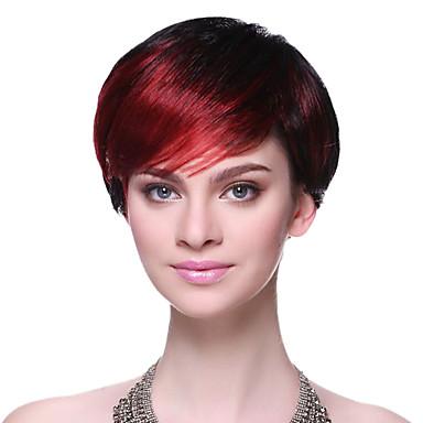 capless synth tique de haute qualit couleur cheveux courts mixte h t ro perruques de 556430. Black Bedroom Furniture Sets. Home Design Ideas
