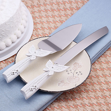Serving Sets Wedding Cake Knife Beautiful Butterfly Design Cake Knife
