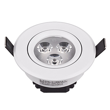 Buy 3W Modern LED Ceiling Light Integrated White Paint Shade
