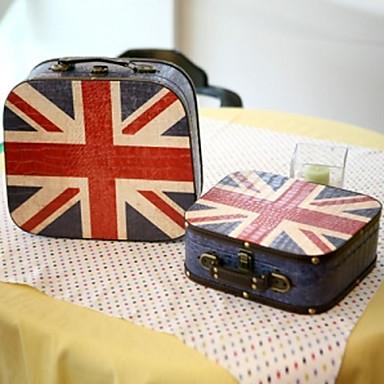 Vintage union jack pattern suitcase 619835 2016 for Decoration murale union jack