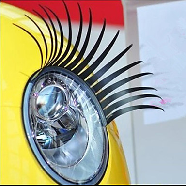 Styling Vehicle Car Adhesive Eye Lashes