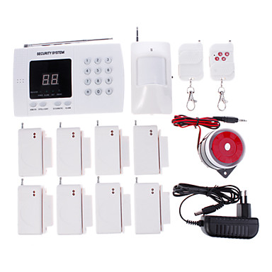 NEW Wireless Autodial Home Security Alarm System With Auto Dialing