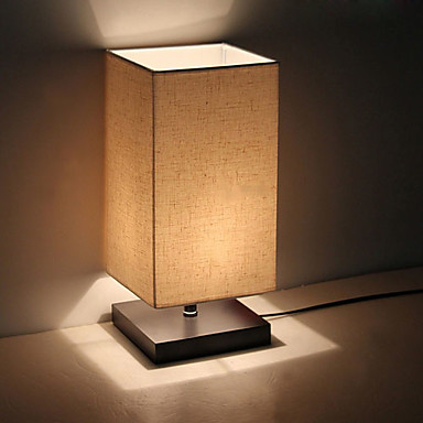 Moderno minimalista de madera s lida l mpara de mesa - Mini table de chevet ...